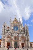 Siena Cathedral is a splendid example of medieval architecture Royalty Free Stock Image