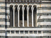 Siena, Cathedral steeple window Royalty Free Stock Photography