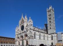 Siena cathedral in a sunny day, Tuscany, Italy. Stock Photos