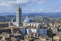 Siena Cathedral, Toscane Photos stock