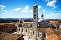 Siena Cathedral in Tuscany, Italy Stock Images