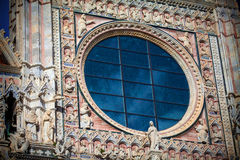 Siena Cathedral in Tuscany, Italy Stock Image