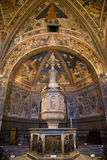 Siena Cathedral in Tuscany, Italy Royalty Free Stock Photography