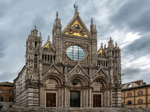Siena cathedral view Royalty Free Stock Images