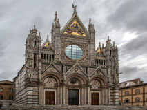 Siena cathedral view Royalty Free Stock Photos