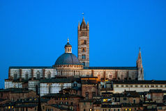 Siena central cathedral Royalty Free Stock Photography