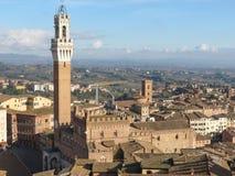 Siena, centro de cidade Imagens de Stock Royalty Free
