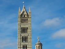 Siena, centro urbano Fotografia Stock