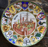Siena - cerâmica imagem de stock