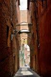 Siena Cidade velha Imagem de Stock Royalty Free