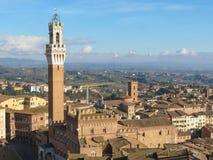 Siena, city centre Stock Images