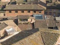 Siena, city centre Royalty Free Stock Photos