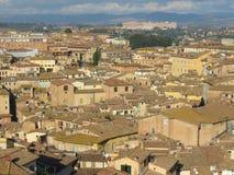 Siena, city centre Stock Image