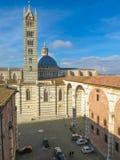 Siena, city centre Stock Photo