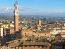 Siena, city centre Stock Photo