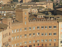 Siena, city centre Royalty Free Stock Photo