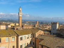 Siena, city centre Royalty Free Stock Photos