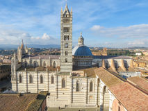 Siena, city centre Royalty Free Stock Image