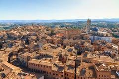 Siena cityscape Stock Image