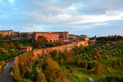 Siena Countryside adorabile immagine stock