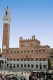 Siena - der allgemeine Palast stockfotos