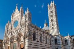 Siena dome Duomo di Siena Royalty Free Stock Photos