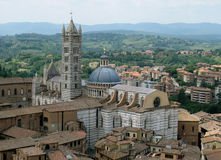 Siena Cathedral Medieval Cathedral in Siena, Tuscany, Italy Royalty Free Stock Photography