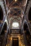 Siena Duomo di Diena fotos de archivo