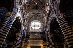 Siena Duomo di Diena Stockfotografie