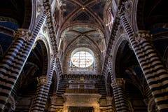 Siena Duomo Di Diena Fotografia Stock