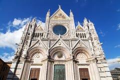 Siena Duomo di Diena Foto de archivo libre de regalías