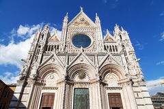 Siena Duomo di Diena Royalty Free Stock Photo