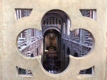 Siena Duomo-Innenraum Stockbilder