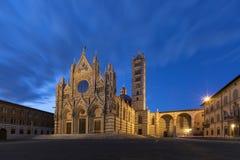 Siena Duomo - Toscanië - Italië Stock Afbeeldingen