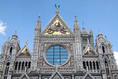 Siena Duomo #2. Wonderful and famous dome of Siena, Italy Royalty Free Stock Photography