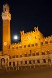 Siena Full Moon Imagen de archivo libre de regalías