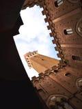 Siena hemel Stock Foto
