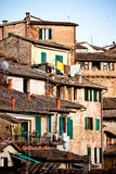 Siena historic architecture Stock Photo