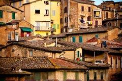 Siena historic architecture Stock Image