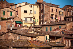 Siena historic architecture Royalty Free Stock Images
