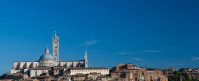 Siena horizon Royalty-vrije Stock Fotografie