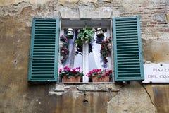 Siena - house window Stock Photo