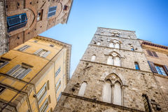 Siena houses Stock Images