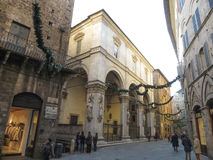 Siena, ideia do centro de cidade Foto de Stock
