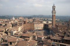 Siena, Italië Stock Fotografie