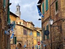 Siena, Italië Stock Afbeeldingen