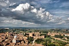 Siena, Italië Stock Foto's