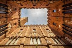 Siena Italië stock afbeelding