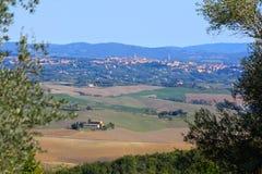 Siena, Italië Stock Afbeelding