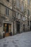 SIENA, ITALIË 10 MAART, 2016: Oude middeleeuwse stad van Italië Royalty-vrije Stock Afbeelding